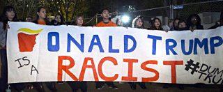 Donald Trump, manifestazioni contro esito voto in diverse città degli Stati Uniti