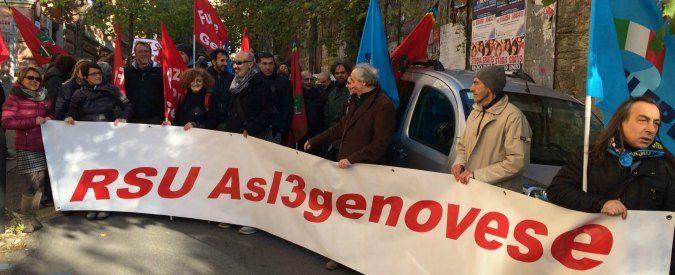 Genova, in sciopero i lavoratori dei Sert: 'Poche sedi e servizi sempre meno garantiti'
