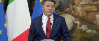"""Stabilità, Renzi: """"Questa legge risponde a chi va nei mercati rionali e non finanziari"""""""