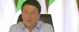 """Referendum, Renzi contro tutti: """"Quelli del No? Vogliono solo difendere la poltrona"""""""