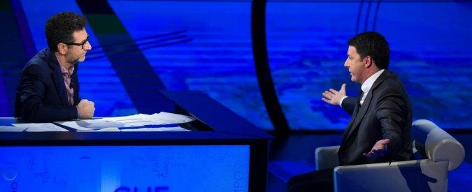 """Referendum, Renzi: """"Se dobbiamo lasciare le cose come stanno vengano altri bravi a galleggiare"""""""