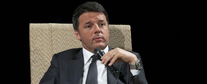 """Referendum, Renzi: """"Se vince il No non farò governo di scopo. Vorrei confronto con Berlusconi e Grillo o Casaleggio Jr"""""""