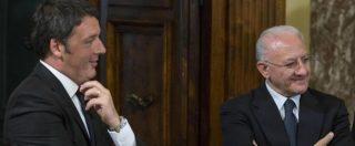 """Referendum, Renzi: """"Non condivido metodi De Luca, ma se Sud amministrato come fa lui, avremmo 1% di Pil in più"""""""