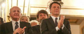 """Rifiuti, Renzi non risponde e attacca Fanpage: """"Indagati, provate la vostra innocenza"""". De Luca: """"Ingoierete tutto"""""""