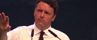 """Leopolda, Renzi contro minoranza Pd: """"Teorici della ditta quando ci sono loro e anarchia con gli altri"""""""