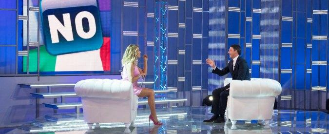 """Berlusconi e Renzi da Barbara D'Urso, la sfida a distanza. Il premier: """"Se volete la Casta vi guarderò da casa con i pop corn"""""""