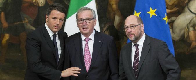 """Legge di Bilancio, Ue: """"Rischio che non rispetti patto di stabilità"""". Ma regala tempo a Renzi e rinvia il giudizio finale"""