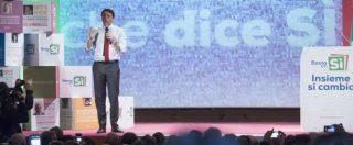 """Referendum, Renzi: """"Manderemo depliant per il Sì a tutti. Querelo chi dice che spendiamo soldi pubblici"""""""