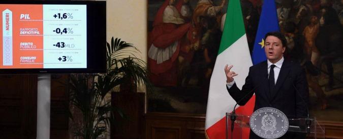 """Renzi, 1000 giorni di governo: """"Riforme e ripartenza: compiti fatti. Se vince il No verificheremo la situazione politica"""""""
