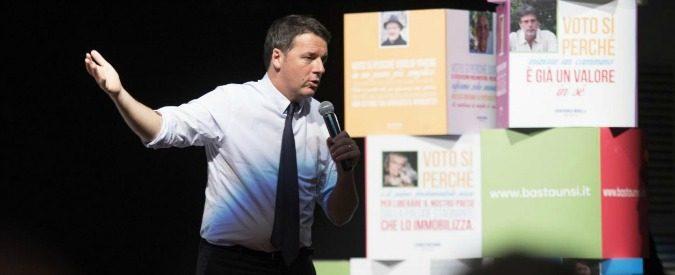 Referendum: caro Renzi, può evitare di spedirmi la sua lettera