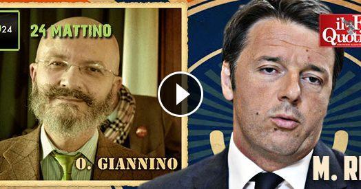 """Renzi vs Oscar Giannino, con gaffe: """"Abbiamo abbassato le tasse, non ci vuole laurea per capirlo"""""""