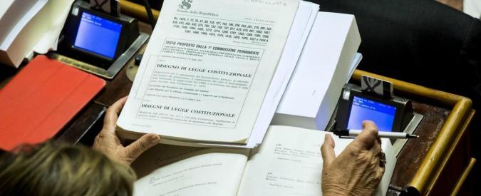 Referendum, tra sindaci highlander e il Senato gonfiabile: tutti i mostri prodotti da una riforma mal scritta