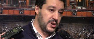 """Salvini: """"Leader centrodestra? A disposizione. Parisi? No accordi con amici di Verdini e Alfano"""""""