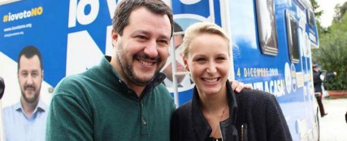 """Referendum, Salvini a pranzo in Versilia con Marion Le Pen: """"Le ho spiegato perché la Lega vota no alla riforma"""""""