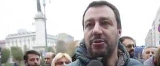 """Referendum, Salvini: """"Non se ne può più. Renzi spunta anche dai lavandini, ma ormai ha solo 15 giorni"""""""