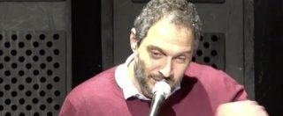 """Referendum, Claudio Santamaria legge l'articolo 70: """"Sembra uno sketch di Proietti"""""""