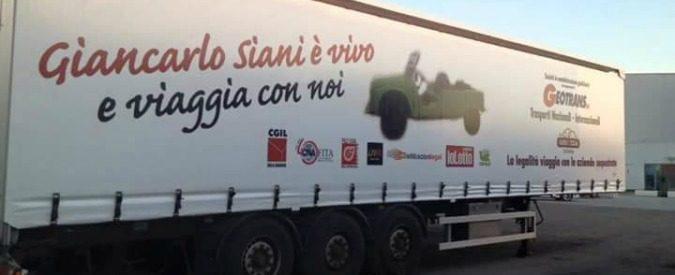 Giancarlo Siani, la Mehari in 'Viaggio legale' sulla via Emilia