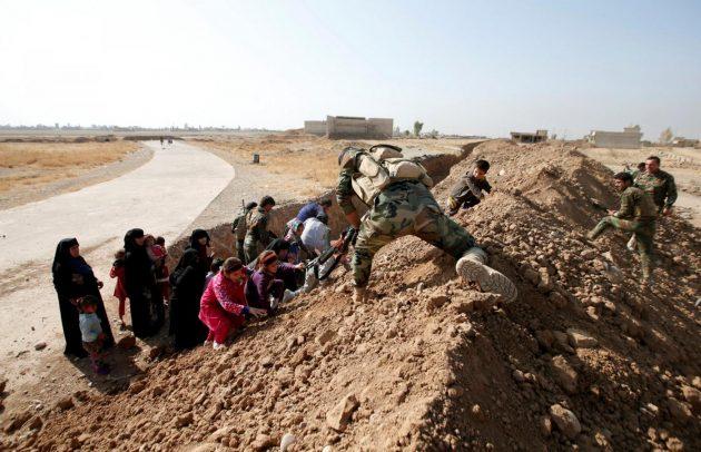 Iraq, le immagini dal fronte di Mosul