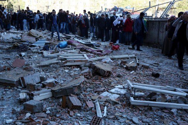 Turchia, esplosione Diyarbakir