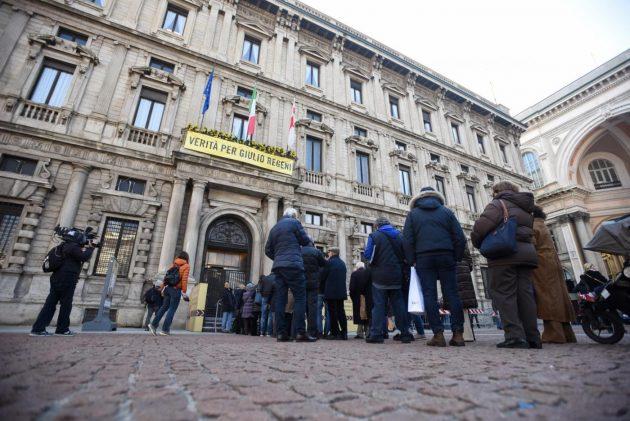 Milano, camera ardente di Umberto Veronesi a Palazzo Marino
