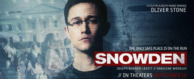 Snowden, un eroe per caso contro l'Intelligence americana