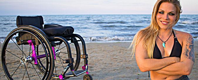 Disabilità, Sofia rocks, inviato speciale: 28 anni, filosofa, modella e chitarrista