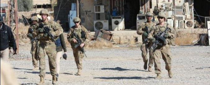 """Mosul, media: """"Soldati Usa coinvolti in azioni sul terreno con militari iracheni"""""""