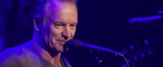"""Parigi, Sting al Bataclan. Un minuto di silenzio per le vittime: """"Non dimentichiamo"""".  Poi il concerto"""