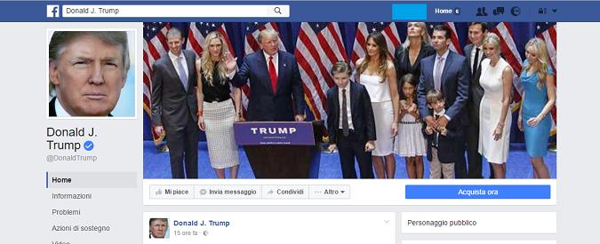 Informarsi sul web, c'è modo e modo. Chi poteva prevedere la vittoria di Trump da Facebook?