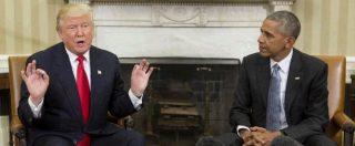 """Trump, primo incontro con Obama alla Casa Bianca. Il neopresidente: """"Un onore, collaboreremo"""""""