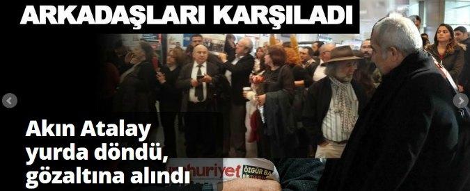 Istanbul, arrestato presidente del giornale anti-Erdogan 'Cumhuriyet'