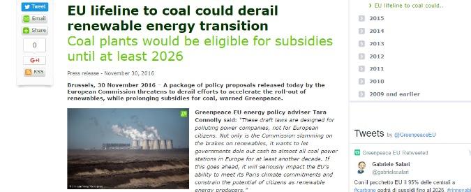 """Energia rinnovabile, al via il nuovo piano Ue. Associazioni: """"Mercoledì nero, è un colpo violento alle fonti pulite"""""""