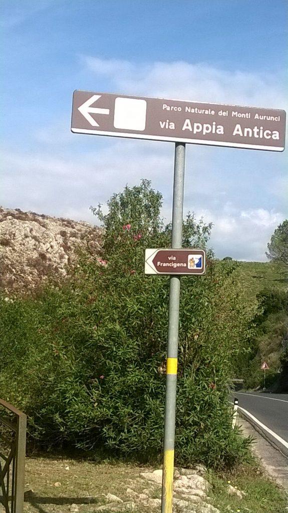 Via Appia Antica fra Itri e Fondi