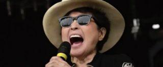 Trump, la reazione di Yoko Ono all'elezione del tycoon è tutta da ascoltare