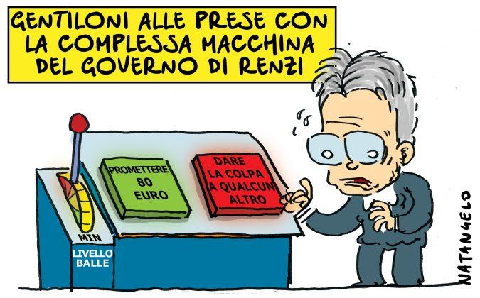 """La """"Macchina di Governo""""® di Renzi."""