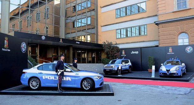 Alfa Romeo Jeep Polizia