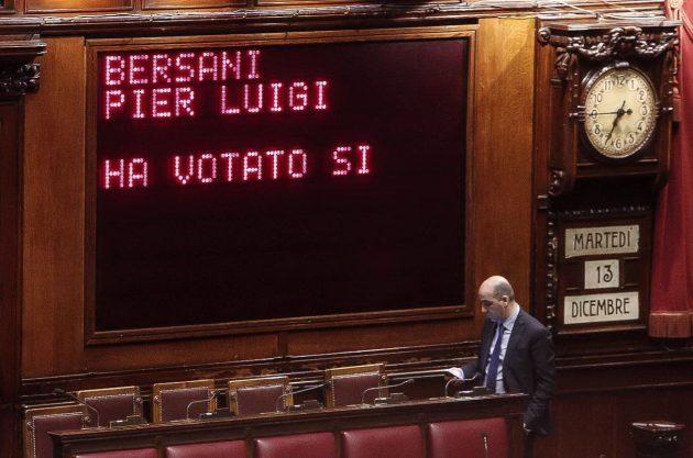 Bersani ha chiesto discontinuità ma ha detto che non fa mancare il proprio sostegno al nuovo governo