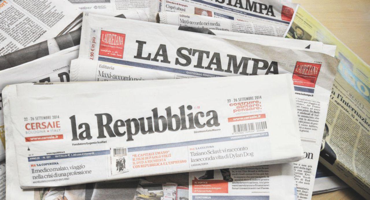Stampubblica, tagli ai costi per fondersi