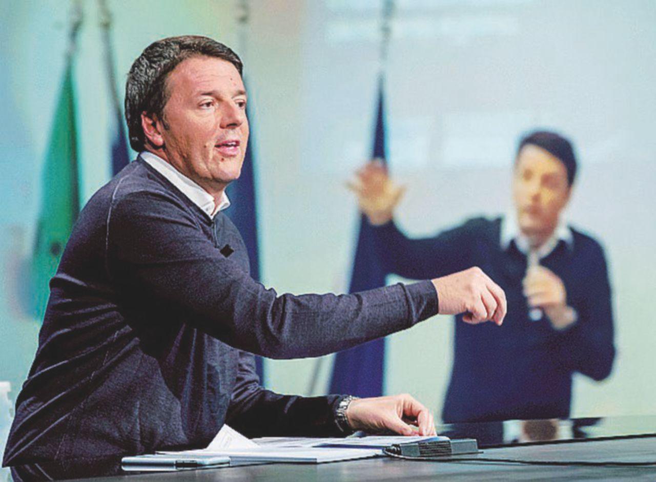 Renzi in onda a reti unificate per il Sì: così il premier straborda nei tg di tutti i canali