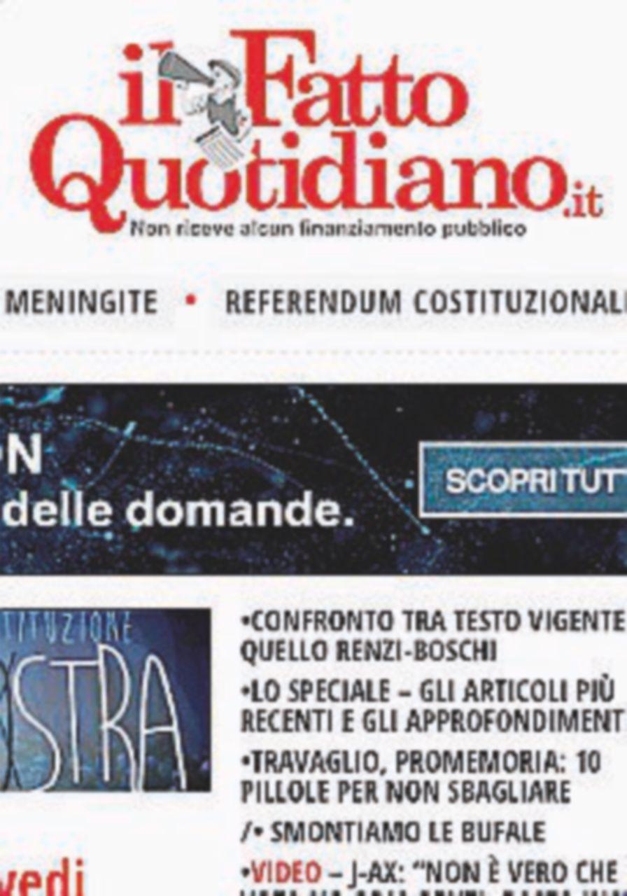 Oscar della Rete, il premio 2016 a ilfattoquotidiano.it