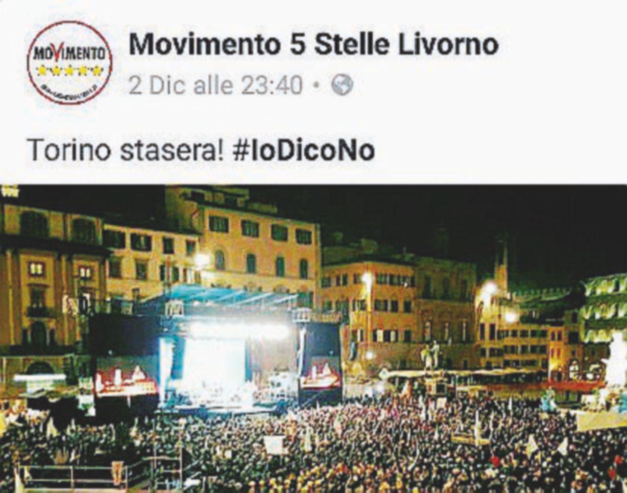 """M5S: """"Ecco la Torino che dice No"""". Ma è la Firenze dei dem"""