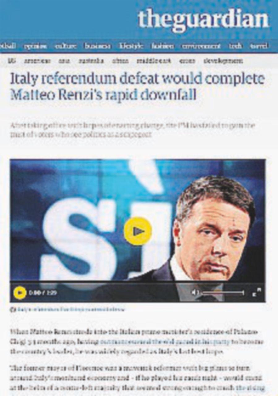 """La stampa estera: """"Il governo ha perso, avanzano i populismi"""""""