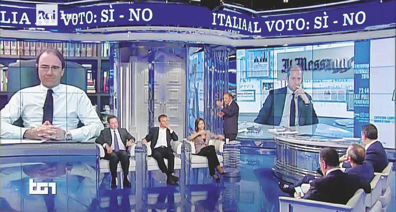Notte in tv: la finta sorpresa del No di cortigiani e comari