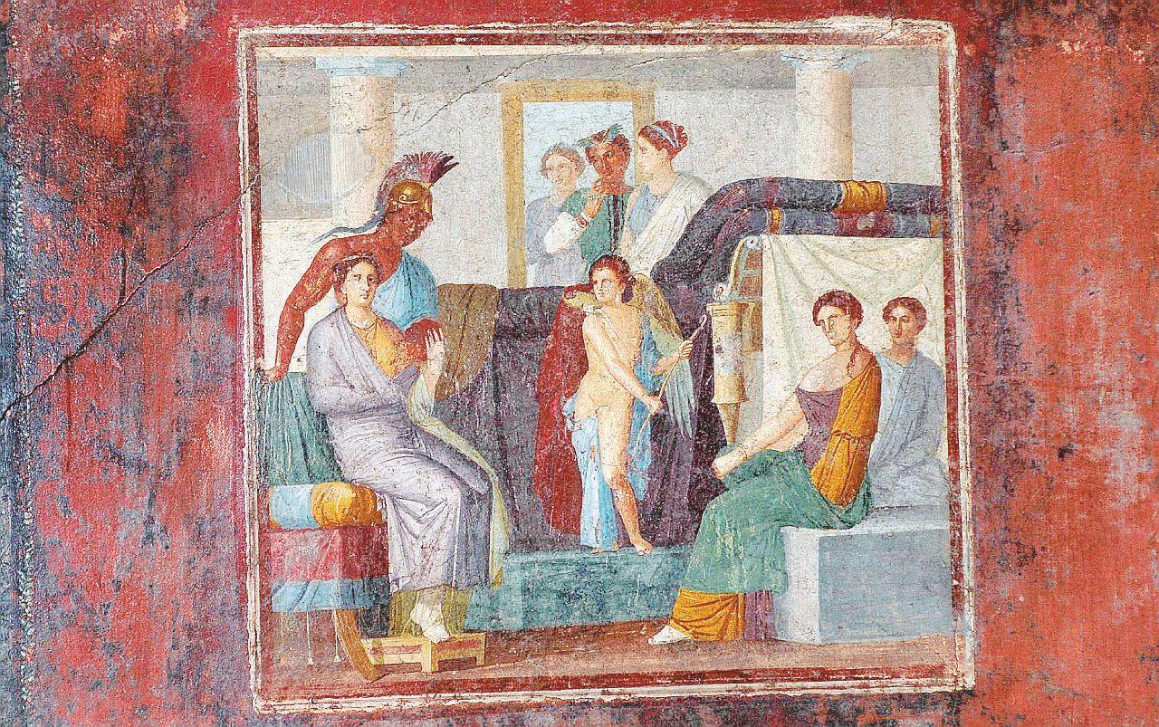 Scene di lotta di genere nella Roma Antica