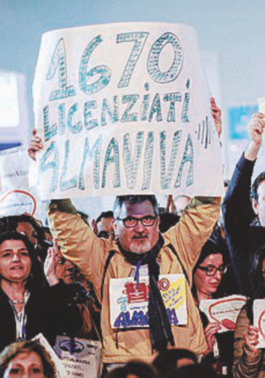 Almaviva rompe con i sindacati e ritira la proposta