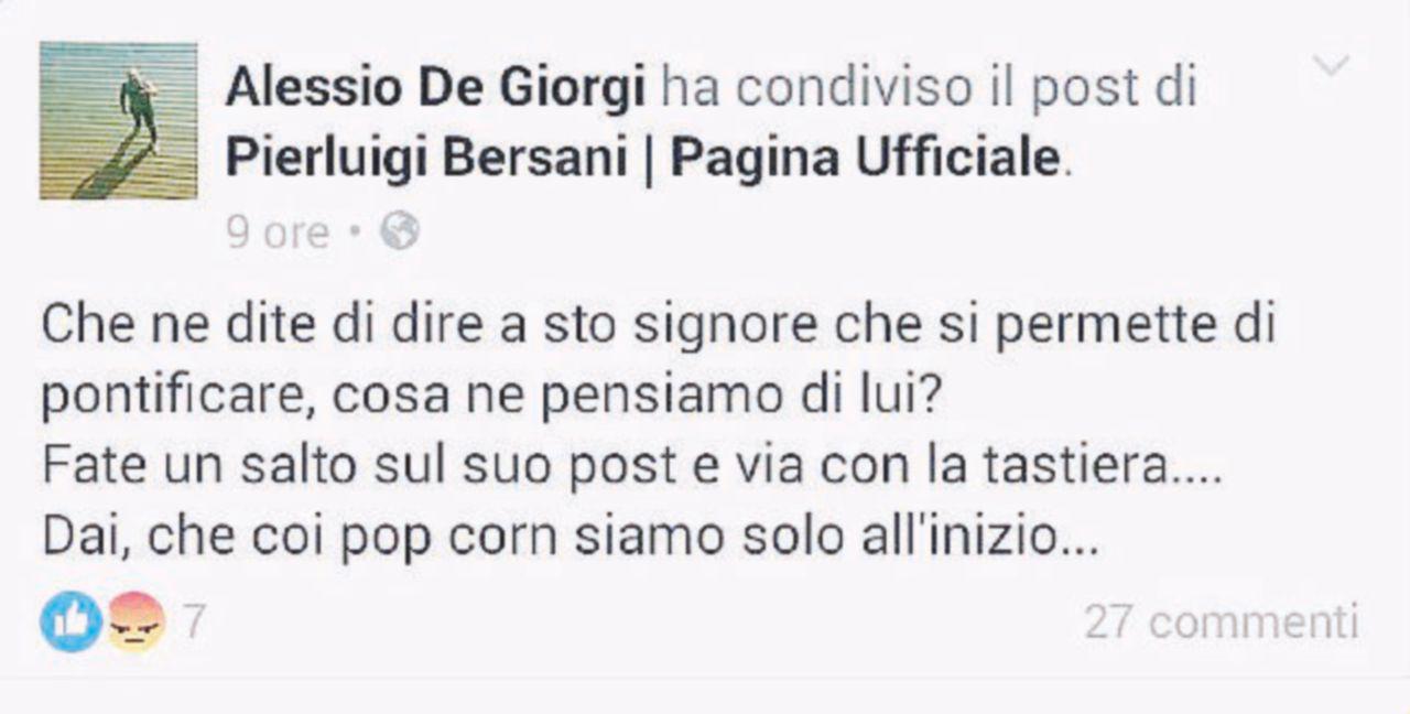 Il consulente di Renzi fa campagna social contro Bersani
