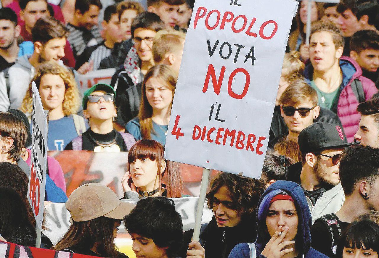 """I giovani del No: """"Abbiamo studiato e votato contro"""""""