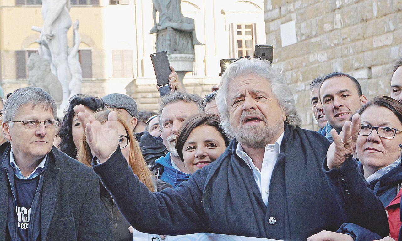 Niente governi, voto subito: il M5S pensa alla piazza