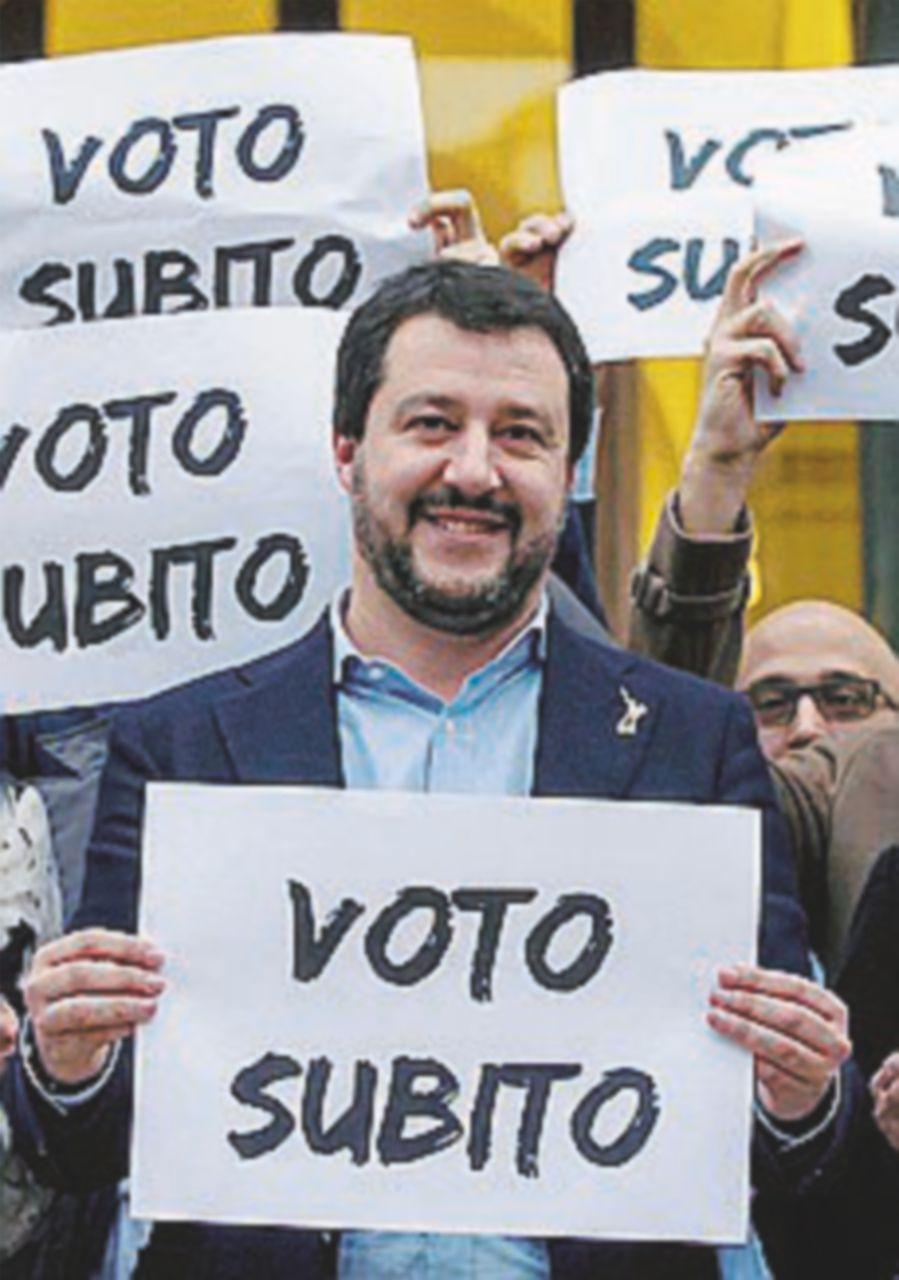 """Da Salvini a Meloni: """"Voto a marzo o tutti in piazza"""""""