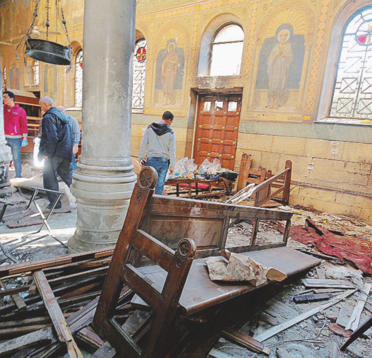 Bomba al Cairo contro i copti (e al Sisi): 25 morti